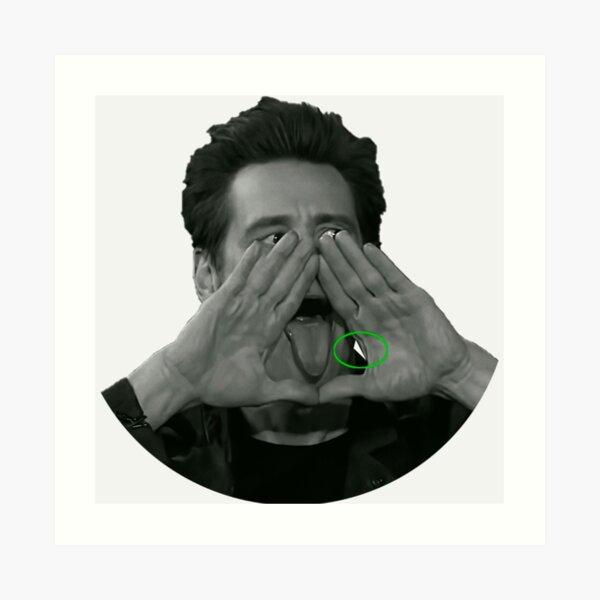Illuminatis Jim Carrey Impression artistique