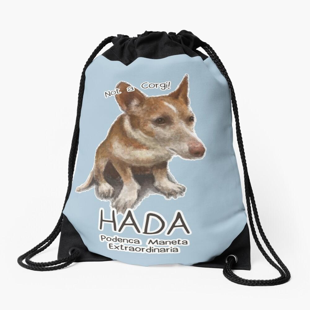 Hada the Podenca Maneta Drawstring Bag