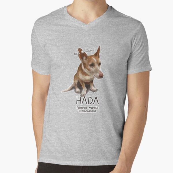 Hada the Podenca Maneta V-Neck T-Shirt