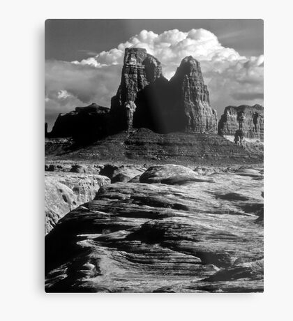 Hard Country Metal Print