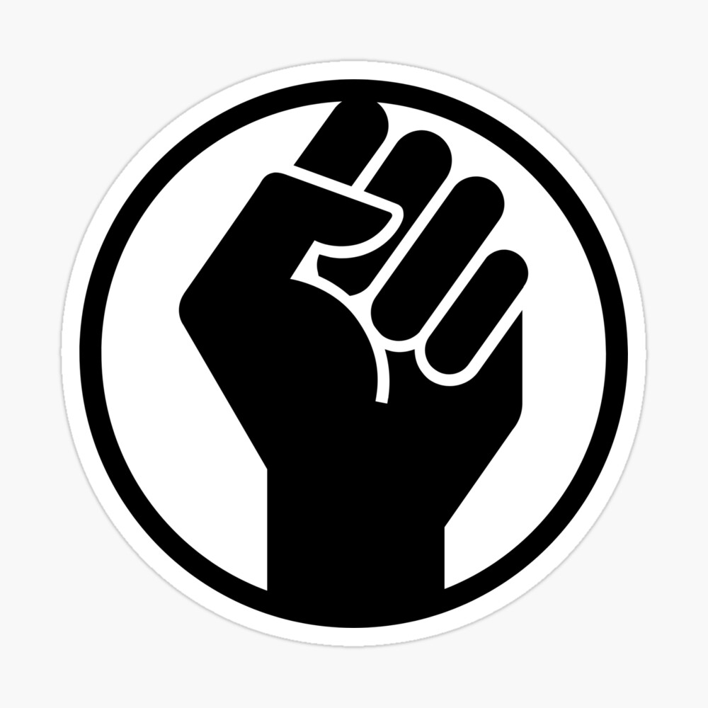 "Black History Month Fist"" Poster by kvsalazar 