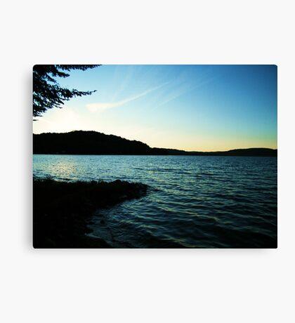 Lac La Blanche, Quebec Canvas Print