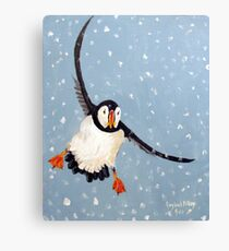 """""""Playful Puffin"""" Canvas Print"""