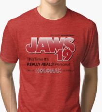 Jaws 19 - Back to the Future Tri-blend T-Shirt