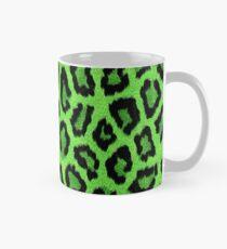 Grüner Leopard Animal Print Tasse