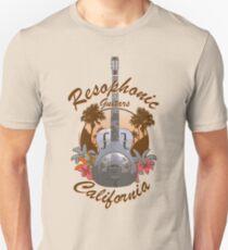 Resophonic Guitar - California (brown) T-Shirt