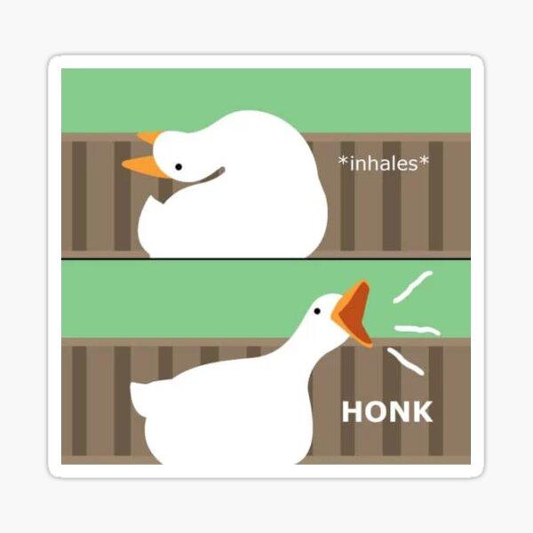 untitled goose Sticker