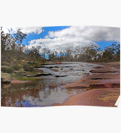 Beraking Brook - Western Australia Poster