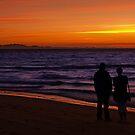 Kino Bay Sunset by Richard G Witham