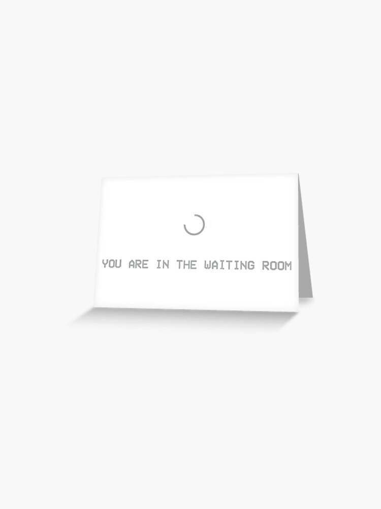 Yeezy Supply Waiting Room Message