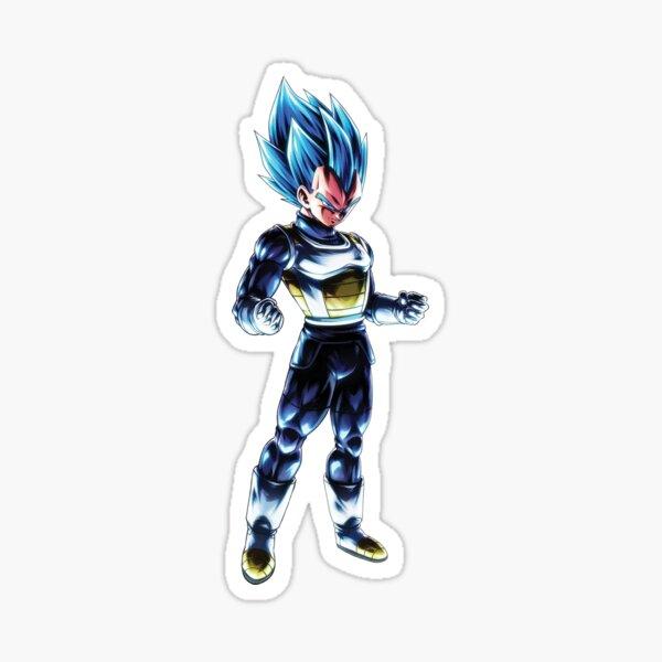 BDZ Vegeta Super Saiyan Blue Sticker