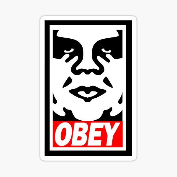 Obéit Sticker