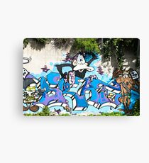 Monkey and others Canvas Print