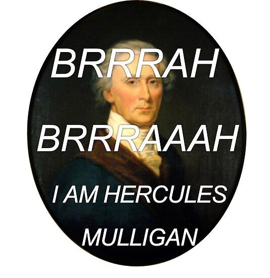 Quot Hercules Mulligan Hamilton Musical Quot Poster By