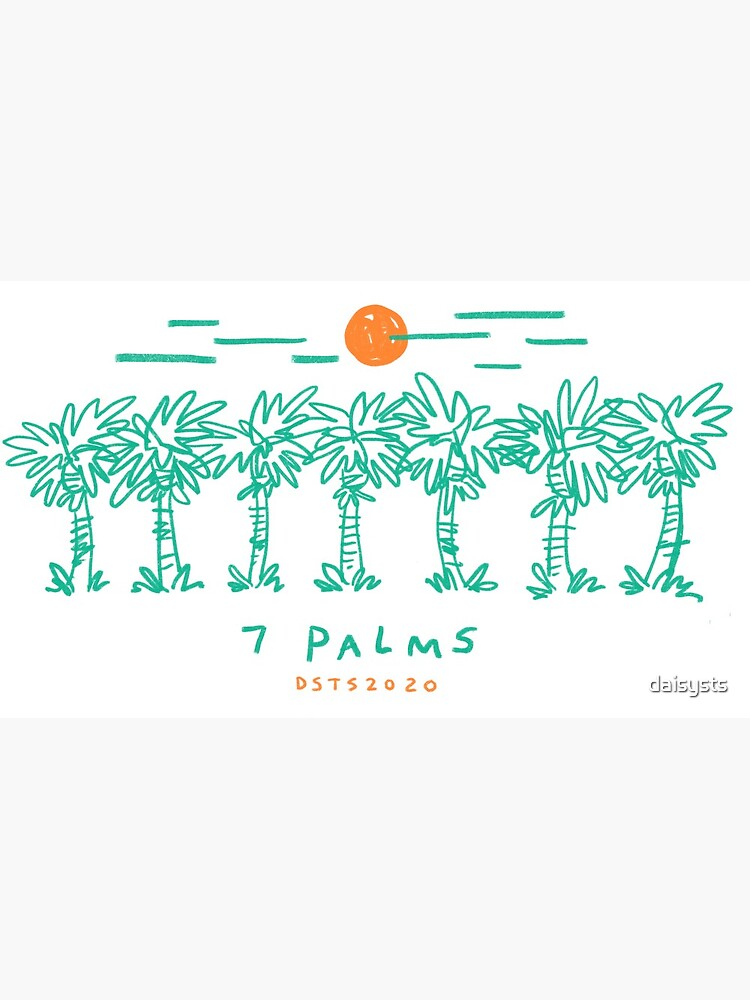 7 Palms (2020 edition) by daisysts
