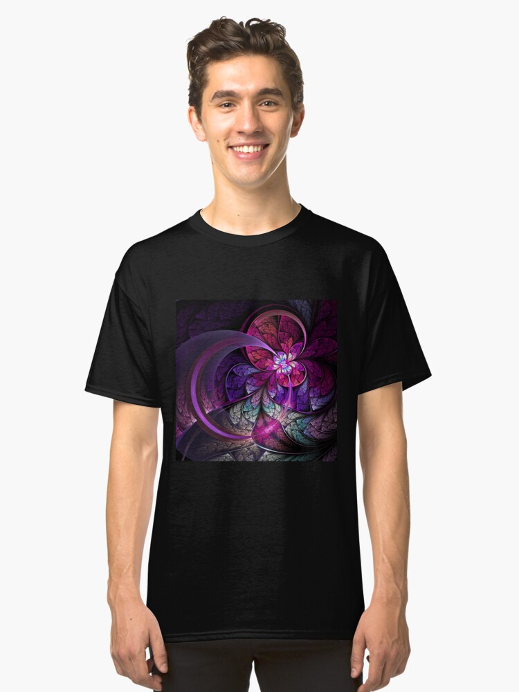 Fly - Abstract Fractal Artwork Classic T-Shirt Front