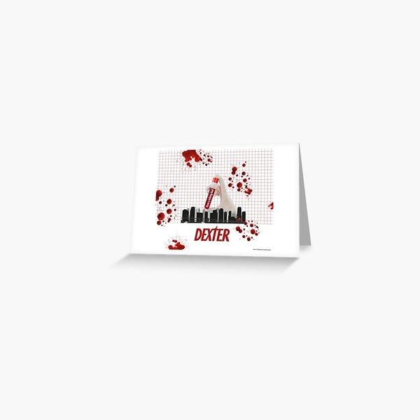 dissect them and collect the blood of his victims on slides as a murder trophy. An exciting series divided into 8 seasons Greeting Card