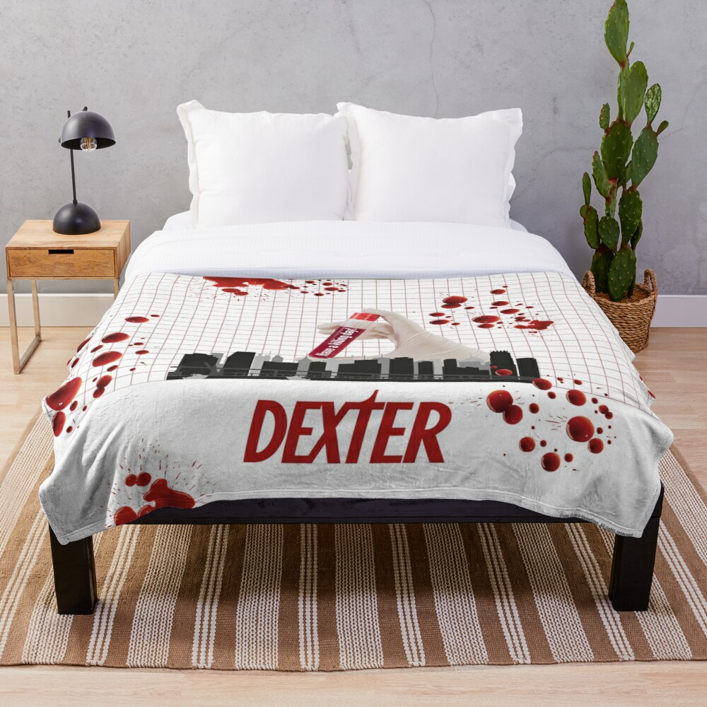 Dexter quote Throw Blanket