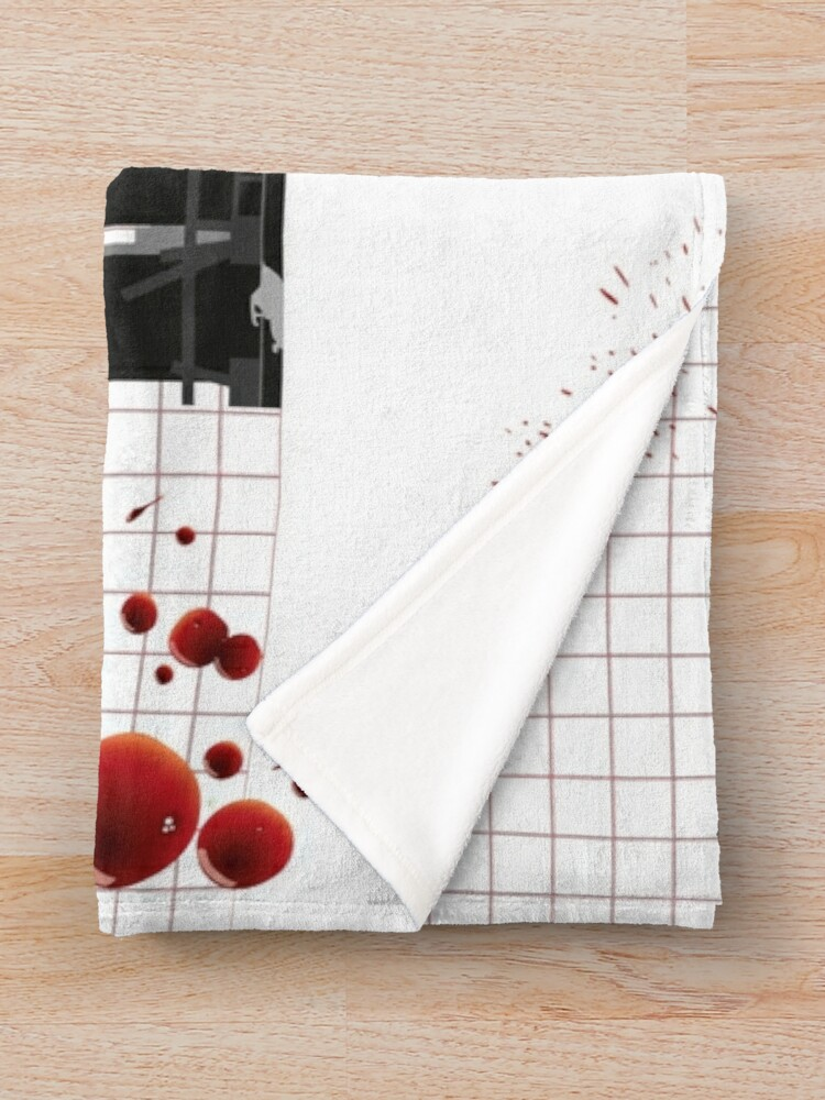 Alternate view of Dexter quote Throw Blanket