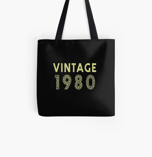 80s Tote Bag 80/'s Fancy Dress Costume Outfit Neon Party Shoulder Handbag