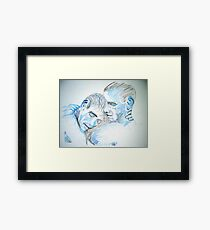 Masculine Tenderness Framed Print