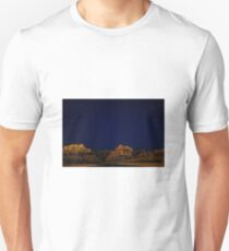Night sky and mountains T-Shirt