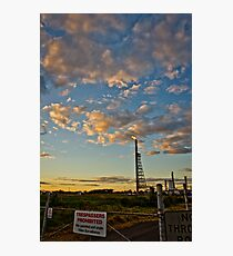 Corio Beacon Photographic Print