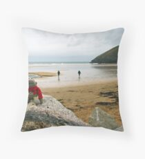 Jimmy at the summit! Throw Pillow