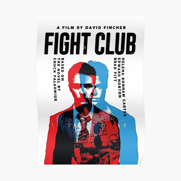 Fight Club Poster Poster