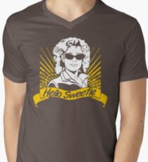 Hello Sweetie | Doctor Who Mens V-Neck T-Shirt