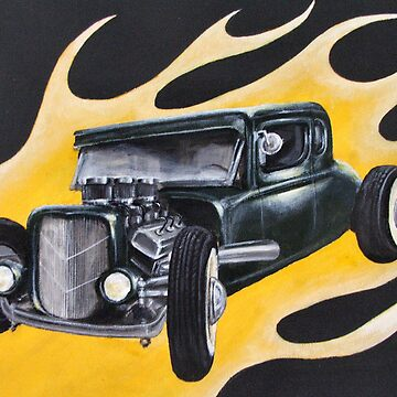 Hot Rod Flames by leetwigger