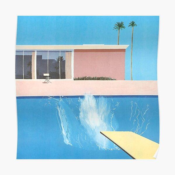 Pool Splash Poster
