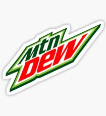 mtn dew Sticker