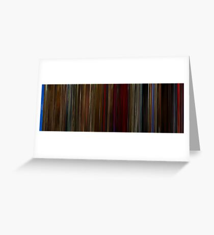 Moviebarcode: Twin Peaks Fire Walk with Me (1992) Greeting Card