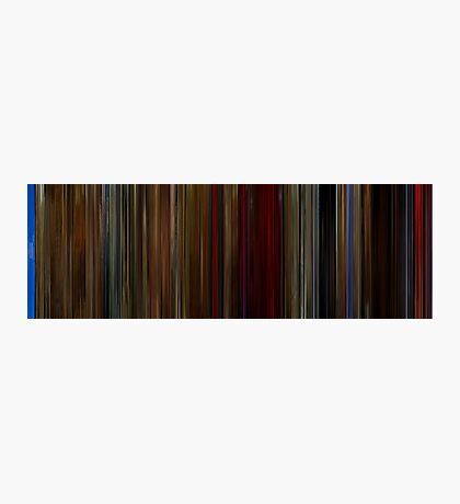 Moviebarcode: Twin Peaks Fire Walk with Me (1992) Photographic Print