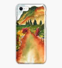 September Vineyard iPhone Case/Skin