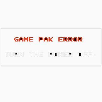 game pack error by loc123