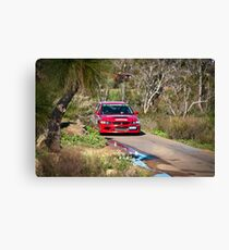 Targa West 2011 - Car 34 - Photo 1 Canvas Print