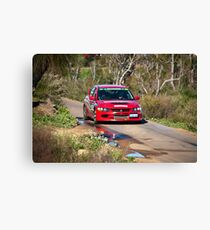 Targa West 2011 - Car 34 - Photo 2 Canvas Print