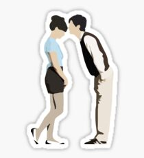 (500) Days of Summer - Tom & Summer Sticker