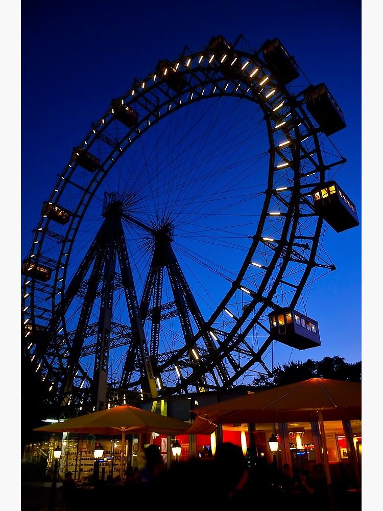 La ruota panoramica del Prater di Vienna by rapis60