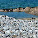 Pebble Beach, Renvyle, Connemara, Ireland by JoeTravers