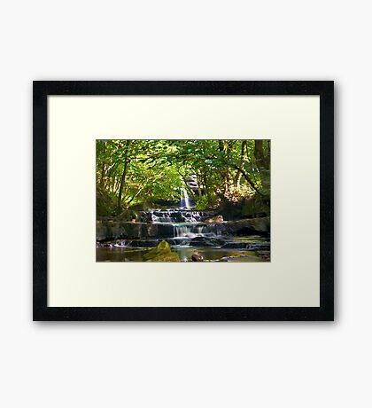 Summerhill Falls Framed Print