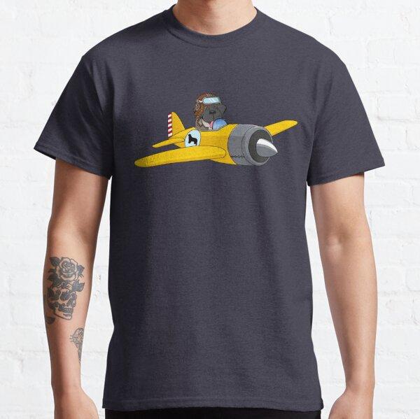 Piper J-3 Cub with Newfie Pilot Classic T-Shirt