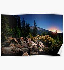 The High Cascades ~ Diamond Peak ~ Poster