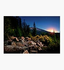 The High Cascades ~ Diamond Peak ~ Photographic Print