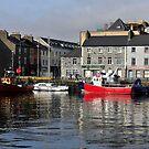 Galway Harbour, Ireland. by JoeTravers