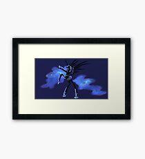 My Little Pony - MLP - FNAF - Nightmare Moon Animatronic Framed Print