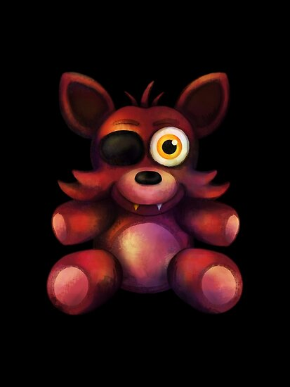 Quot Five Nights At Freddy S Fnaf 4 Foxy Plush Quot Poster By