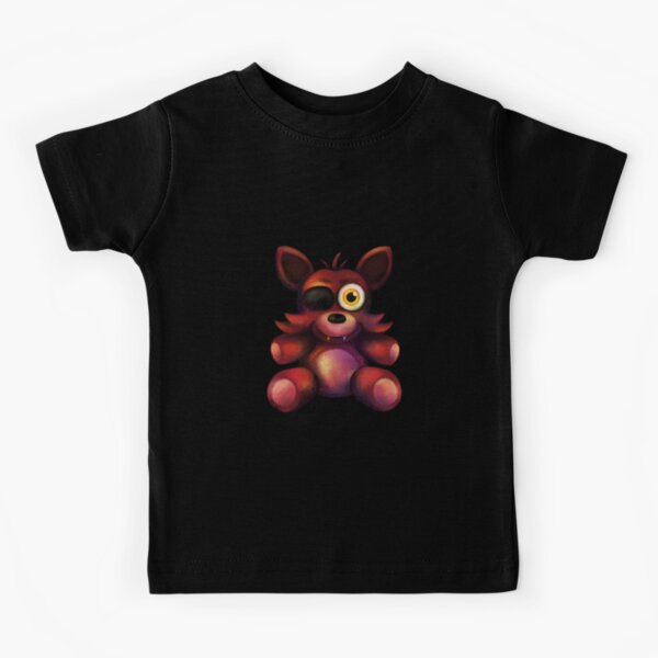 Five Nights at Freddy's - Fnaf 4 - Foxy Plush Kids T-Shirt